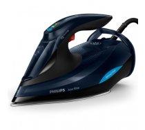 Philips GC5036/20 iron Steam iron SteamGlide Advanced 3000 W Black, Blue   GC5036/20