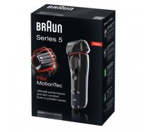 Braun Series 5 5030S men's shaver Foil shaver Trimmer Black,Red | 068846