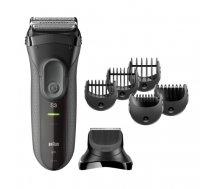 Braun Series 3 3000BT shave n style beard trimmer Wet & Dry Grey   151500