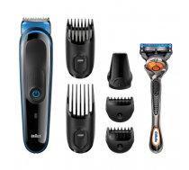 Braun MGK3045 men's shaver Foil shaver Trimmer Black,Blue | 187943