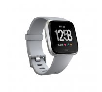 "Fitbit Versa smartwatch Silver LCD 3.4 cm (1.34"") GPS (satellite)   FB505SRGY-EU"