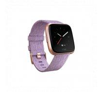 Fitbit Versa Smart watch, LCD, Touchscreen, Heart rate monitor, Activity monitoring 24/7, Waterproof... | FB505RGLV-EU