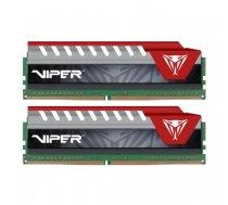 Patriot DDR4 8 GB 2400-CL15 - Dual-Kit - Viper Elite Red | PVE48G240C5KRD