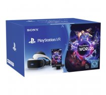 Sony PlayStation VR + Camera + VR Worlds Voucher Dedicated head mounted display 610 g Black, White | 9782315