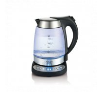 Adler Kettle  AD 1247  With electronic control, Stainless steel, glass, Stainless steel/Transparent,... | AD 1247 NEW