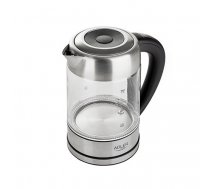 Adler AD 1247 NEW electric kettle 1.7 L 2200 W Hazelnut, Stainless steel, Transparent | AD 1247 NEW
