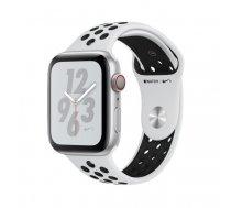 Apple Watch Nike+ Series 4 44 mm OLED 4G Silver GPS (satellite)   MTXK2FD/A