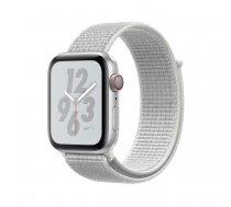 Apple Watch Nike+ Series 4 44 mm OLED 4G Silver GPS (satellite)   MTXJ2FD/A