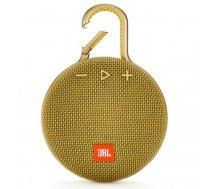 JBL Clip 3 3.3 W Mono portable speaker Yellow | JBLCLIP3YEL