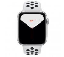 Apple Watch Nike Series 5 44 mm OLED 4G Silver GPS (satellite) | MX3E2FD/A