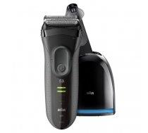 Braun Series 3 3050cc men's shaver Foil shaver Trimmer Black, Grey | 3050CC