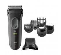 Braun 3000BT Wet & Dry Grey beard trimmer | 3000BT