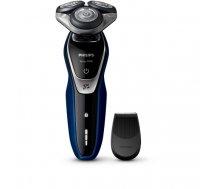 Philips SHAVER Series 5000 S5572/06 men's shaver Rotation shaver Trimmer Black, Blue, Silver | S 5572/06