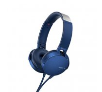 Sony MDR-XB550AP mobile headset Binaural Head-band Blue Wired | MDRXB550APL.CE7