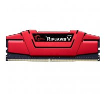 G.Skill DDR4 16GB 3000-15 Kit - Ripjaws V Red | F4-3000C15D-16GVRB