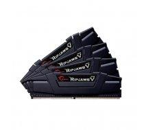 G.Skill DDR4 32GB 3200-15 Ripjaws V Black Quad | F4-3200C15Q-32GVK