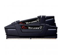 G.Skill DDR4 16GB 3200-15 Ripjaws V Black Dual | F4-3200C15D-16GVK