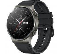 "Huawei WATCH GT 2 Pro AMOLED 3.53 cm (1.39"") Black GPS (satellite) | 55025791"