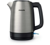Philips Daily Collection HD9350/91 electric kettle 1.7 L Black,Stainless steel 2200 W | HD9350/91