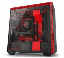 NZXT H700i computer case Midi-Tower Black, Red | CA-H700W-BR