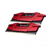 G.Skill DDR4 16GB 2666 Kit Red, F4-2666C15D-16GVR, Ripjaws V | F4-2666C15D-16GVR