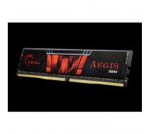 G.Skill Aegis DIMM 8GB, DDR4-3000, CL16-18-18-38 (F4-3000C16S-8GISB) | F4-3000C16S-8GISB