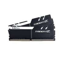 G.Skill Trident Z black/white DIMM Kit 16GB, DDR4-3200, CL16-18-18-38 (F4-3200C16D-16GTZKW) | F4-3200C16D-16GTZKW