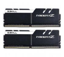 G.Skill Trident Z black/white DIMM Kit 32GB, DDR4-3200, CL16-16-16-36 (F4-3200C16D-32GTZKW) | F4-3200C16D-32GTZKW