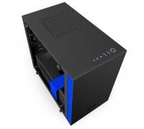 NZXT H200i Mini-Tower Black, Blue computer case | CA-H200W-BL