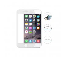 Swissten Ultra Durable 3D Japanese Tempered Glass Premium 9H Aizsargstikls Apple iPhone 6 / 6S Balts   SW-JAP-T-3D-IPH6-WH