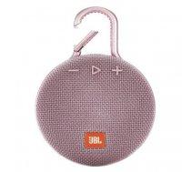 JBL Clip 3 3.3 W Mono portable speaker Pink | JBLCLIP3PINK
