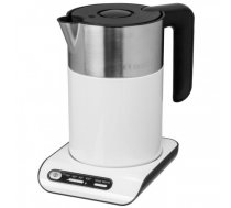 Bosch TWK8611P electric kettle 1.5 L 2400 W Anthracite, Stainless steel, White | TWK 8611P