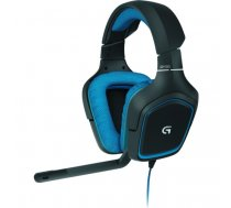 Logitech G430 headset Binaural Head-band Black, Blue | 981-000537