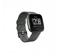 Fitbit Versa Smart watch, NFC, Color LCD, Touchscreen, Heart rate monitor, Activity monitoring 24/7,... | FB505BKGY-EU