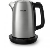 Philips Avance Collection HD9359/90 electric kettle 1.7 L 2200 W Black, Metallic | HD9359/90