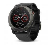 Garmin Fenix 5X Sapphire sport watch Bluetooth 240 x 240 pixels Black, Grey   010-01733-01