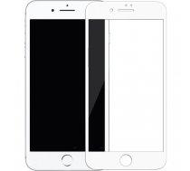 Swissten Ultra Durable 3D Japanese Tempered Glass Premium 9H Aizsargstikls Apple iPhone XR Balts   SW-JAP-T-3D-IPHXR-WH