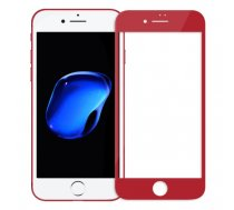 Swissten Ultra Durable 3D Japanese Tempered Glass Premium 9H Aizsargstikls Apple iPhone 7 / 8 Sarkan... | SW-JAP-T-3D-IPH78-R