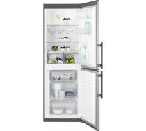 Electrolux ledusskapis (sald.apakšā) (175 cm) - EN3201MOX