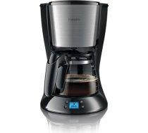 PHILIPS Daily Collection Kafijas automāts ar taimeri,1000W, metāls/melns - HD7459/20