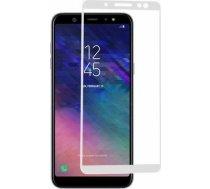 Swissten Ultra Durable 3D Japanese Tempered Glass Premium 9H Aizsargstikls Samsung A600 Galaxy A6 (2018) Balts