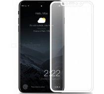 Swissten Ultra Durable 3D Japanese Tempered Glass Premium 9H Aizsargstikls Samsung J600 Galaxy J6 (2018) Balts