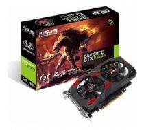 Graphics Card|ASUS|NVIDIA GeForce GTX 1050 TI|4 GB|128 bit|PCIE 3.0 16x|GDDR5|Memory 7008 MHz|GPU 1341 MHz|Dual Slot Fansink|1xD