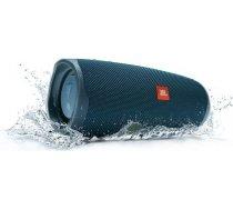 Portable Speaker|JBL|Charge 4|Portable/Waterproof/Wireless|Bluetooth|Blue|JBLCHARGE4BLU JBLCHARGE4BLU