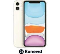 MOBILE PHONE IPHONE 11 64GB/WHITE RND-P14264 APPLE RENEWD RND-P14264