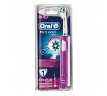 Elektriskā Zobu Suka Pro 600 Cross Action Oral-B | 4210201096269