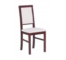 Krēsls Nilo 3 Platums: 43 cm, Dziļums: 40 cm, Augstums: 92 cm, Sēdvietas augstums: 48 cm, Materiāls: dabīgs koks (dižskābardis), Krāsa: balts