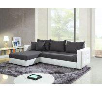 Dīvāns Aron Comfort Izvēlieties stūra novietojumu: Pa kreisi, Dīvāna tips: stūra dīvāni, Platums: 250 cm, Dziļums: 160 cm, Augstums: 75 cm, Guļamvietas garums: 215 cm, Guļamvietas platums: 140 cm, Pildījums: Falista + augstas elastības putas (porolons), Ar veļas kasti: 1, izvelkamie: 1