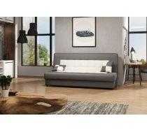 Dīvāns Tornado standard Dīvāna tips: taisni dīvāni, Platums: 190 cm, Dziļums: 90 cm, Augstums: 90 cm, Guļamvietas garums: 190 cm, Guļamvietas platums: 120 cm, Pildījums: Bonell atsperes + Falista atsperes + putas (porolons), Apdare: audums, Ar veļas kasti: 1, izvelkamie: 1, Auduma numurs: Mirtex 8247 + Mirtex 8248, Krāsa: balts + pelēks