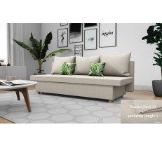 Dīvāns Tana standard Platums: 194 cm, Dīvāna tips: taisni dīvāni, Augstums: 68 cm, Sēdvietas augstums: 45 cm, Sēdvietas dziļums: 60 cm, Guļamvietas garums: 190 cm, Guļamvietas platums: 130 cm, Pildījums: Bonell atsperes + putas (porolons), Apdare: audums,